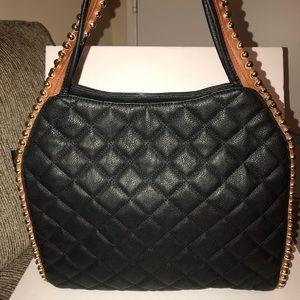 Big Buddha Bags - Black and brown handbag